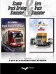 DIGITAL Scania Truck Driving Simulator & Euro Truck Simulator (PC) (klucz STEAM)