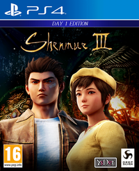 Shenmue 3 Day 1 Edition + Steelbook (PS4)