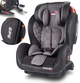Fotelik Top Kids ProComfort Ekoskóra Isofix Black/Grey