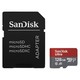 SanDisk Micro SD 128GB Ultra (microSD XC) 100MB/s C10, A1 UHS-I +SD ADAP. FOTO