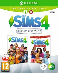 The Sims 4 + Dodatek The Sims 4: Psy i Koty (Xbox One)