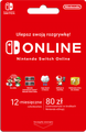 DIGITAL Nintendo - 365 Days Switch Online Membership - 80 zł (klucz NINTENDO eSHOP)