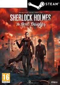 DIGITAL Sherlock Holmes: The Devil's Daughter (PC) PL (klucz STEAM)