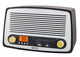 Radio retro Camry CR 1126
