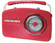Retro radio Camry CR 1130 red