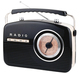 Retro radio Camry CR 1130 black