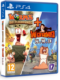 Worms Battlegrounds + Worms W.M.D. (PS4)
