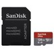 SanDisk MICRO SD 128GB ULTRA (microSDXC) 100MB/s C10, A1 UHS-I +SD ADAP+MEMORY ZONE