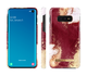 iDeal of Sweden – etui ochronne do Samsung Galaxy S10 E (Golden Burgundy Marble)