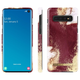 iDeal Of Sweden - etui ochronne do Samsung Galaxy S10 (Golden Burgundy Marble)