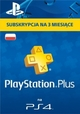 PlayStation Plus - abonament na 90 dni PSN