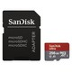 "SanDisk microSDXC Ultra 256GB (A1 / UHS-I / C10 / 100 MB/s) + Adapter ""Android"""