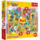 Trefl Super Zings 4 Puzzle 4w1 Super Bohaterowie 34343