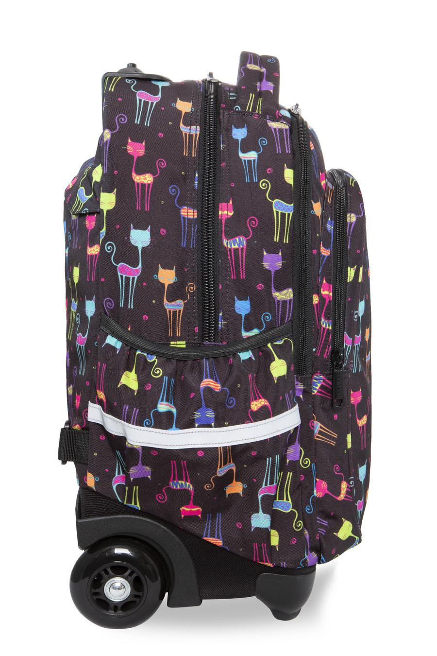 0012552630289 ... Galeria produktu CoolPack Junior Plecak Szkolny Na Kółkach Cats B28046,  ...