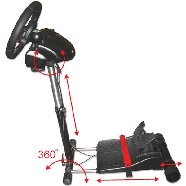 wheel stand pro v2 stojak pod kierownice logitech. Black Bedroom Furniture Sets. Home Design Ideas