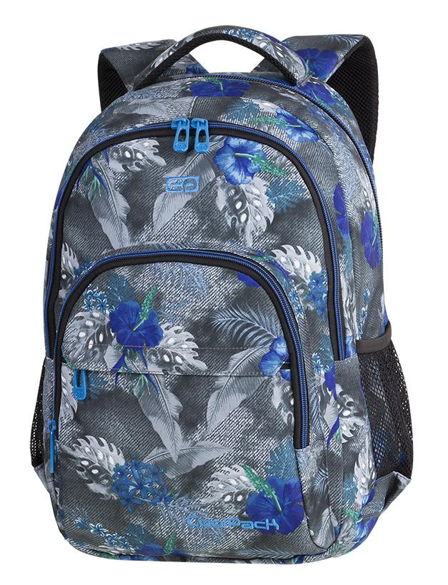53f148b9406e8 Galeria produktu CoolPack Basic Plus Plecak Szkolny Blue Hibiscus 84536CP,  ...