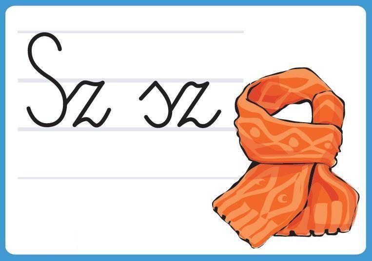 Znalezione obrazy dla zapytania litera sz